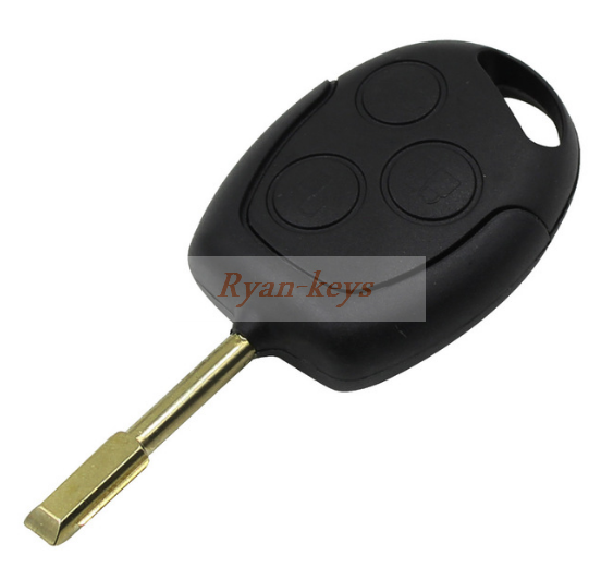 3 Buttons Blade Uncut Remote Car Key Shell Case Fob Covers for Ford Focus Mondeo