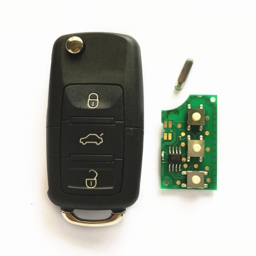 Remote Key fob for VW VOLKSWAGEN 1K0959753G 5FA009263-10 HELLA 434MHZ