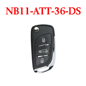 KEYDIY 3 Buttons Remote Key NB11-ATT--46/36/Chrysler/ETT-GM/XTT DS NB Series for KD900/KD MINI/URG200 Key Programmer 5pcs/lot