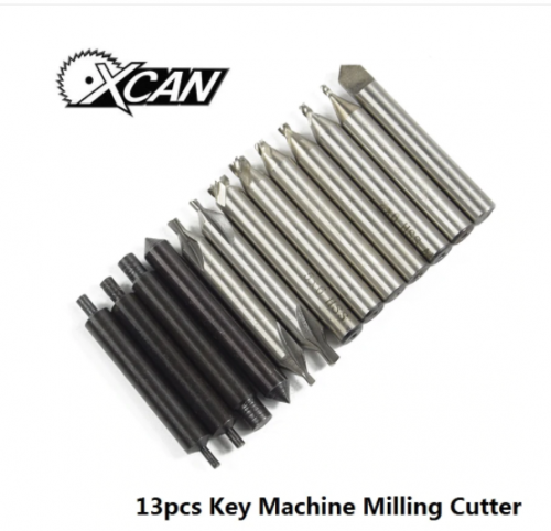 T101 Key Cutting Machine Parts/Accessories Sets for Vertical Machine Locksmith Tools Guide Pin+Milling Cutter