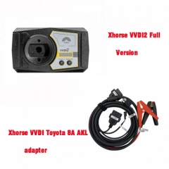 Xhorse VVDI2 Full Version + VVDI Toyota 8A All Keys Lost Adapter