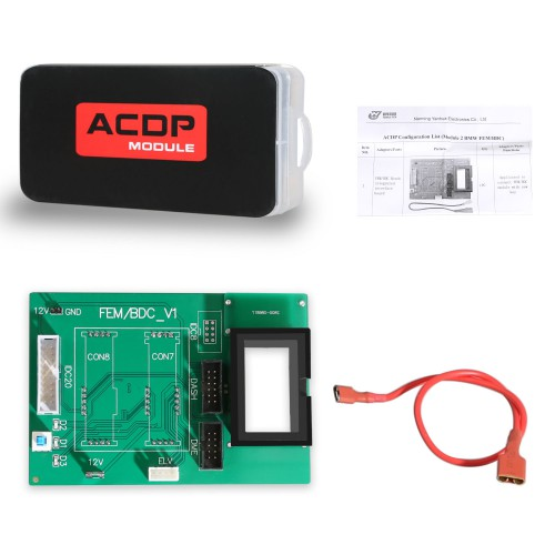 Yanhua Mini ACDP Module2 BMW FEM/BDC Support IMMO Key Programming, Odometer Reset, Module Recovery, Data Backup