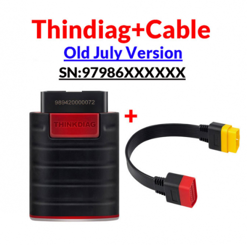 Old Version before July Black Head Thinkdiag same as easydiag full system OBD2 Diagnostic Tool Code Reader 15 reset services Support Diagzone