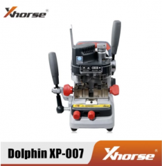 Xhorse Condor DOLPHIN XP007 Manually Key Cutting Machine for Laser, Dimple and Flat Keys