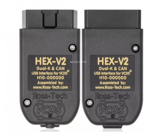 Newest VCDS HEX V2 USB Interface Vag Com 20.4.2 Testers FOR VW AUDI Skoda Seat VAG