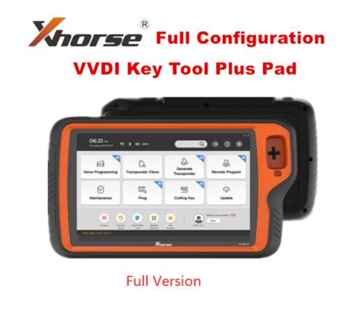 Xhorse VVDI Key Tool Plus Pad Full Configuration All-in-One Programmer