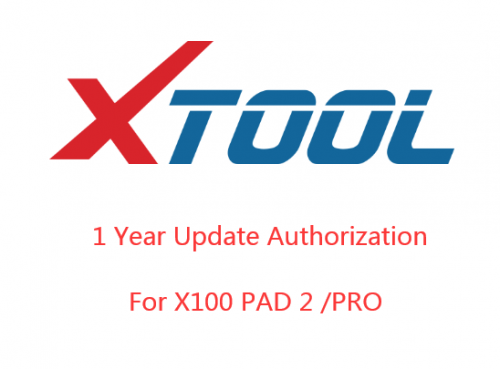 One Year Update Service for XTOOL X100 PAD2/PAD2 Pro