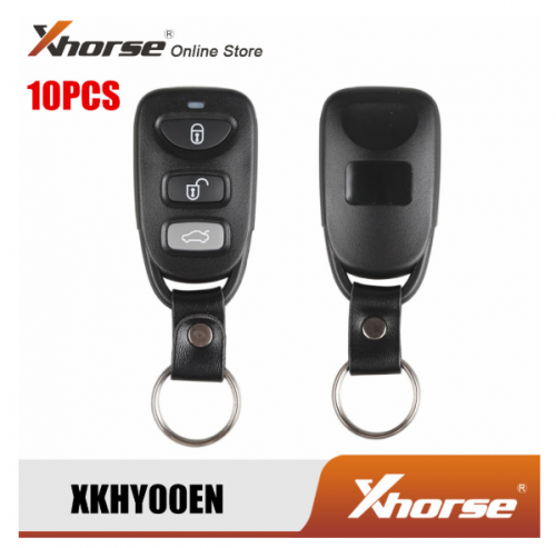 Xhorse XKHY00EN For Hyundai Style Universal Remote Key Wire 3 Buttons 10pcs/lot