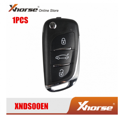 XHORSE XNDS00EN VVDI2 For Volkswagen DS Type Remote Key 3 Buttons Free Shipping 1 PCS