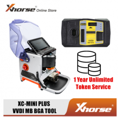 Xhorse iKeycutter CONDOR XC-MINI Master Plus V4.1.0 VVDI MB BGA Tool Get One Free BGA Token Everyday
