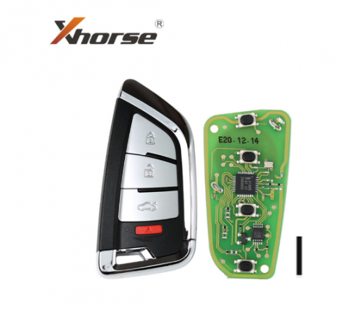 Xhorse XSKF20EN Knife Style Universal XS Series Smarty Remote With 4 Buttons 1Piece