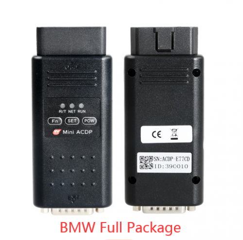 Yanhua Mini ACDP Programming Master BMW Full Package with Module1/2/3/4/7/8/11 Total 7 Authorizations
