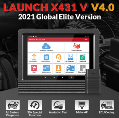 2021 Newest Launch X431 V+ 4.0 Wifi/Bluetooth 10.1inch Tablet Global Version 2 Years Update Online