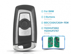 Smart Remote Key Fob For BMW F 5 7 Series FEM / BDC CAS4 CAS4+ EWS5 System 315MHz 434MHz 868MHz 2009 - 2016 YGOHUF5662