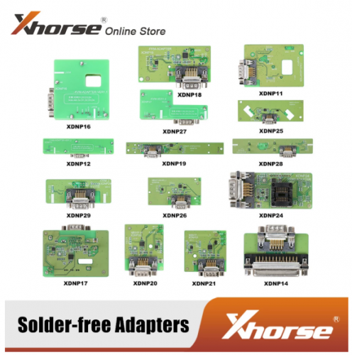 In Stock Xhorse Solder-free Adapters for VVDI MINI PROG and KEY TOOL PLUS