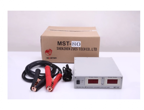 Original Car Voltage Regulator MST-80 Auto battery charger MST 80+ 14V/100A Auto car ECU programming/coding voltage stabilizer